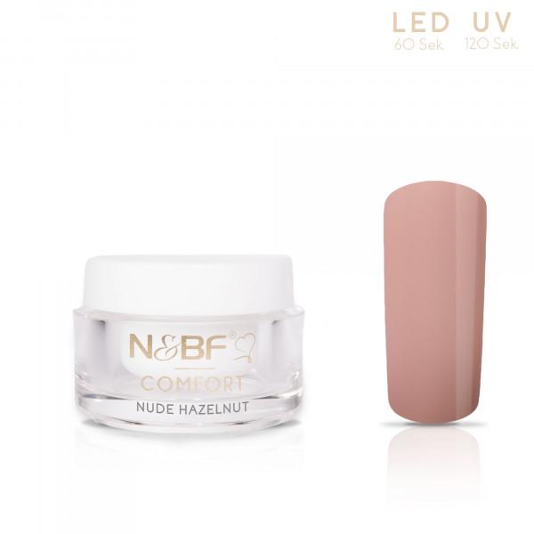 Nails & Beauty Factory Comfort Farbgel Nude Hazelnut 5ml