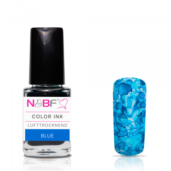 Nails & Beauty Factory Color Ink Blue 12ml