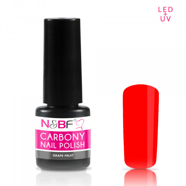 Nails & Beauty Factory Carbony Nail Polish Grape Fruit