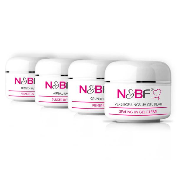 Nails & Beauty Factory Spar Set UV Gel Nr. 1 4x15ml