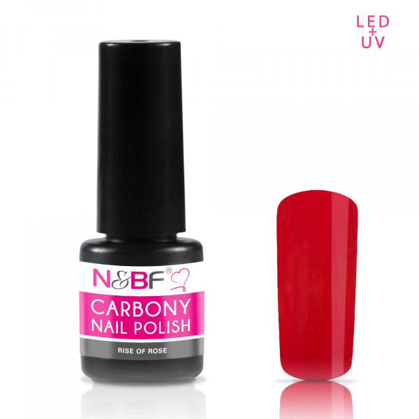 Nails & Beauty Factory Carbony Nail Polish Rise of Rose