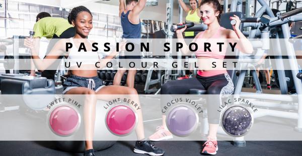 Nails & Beauty Factory UV Farbgel 4er Set Passion Sport