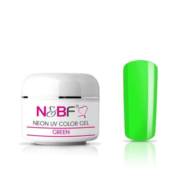 Nails-and-Beauty-Factory-Neon-UV-Color-Gel-Farbgel-Green