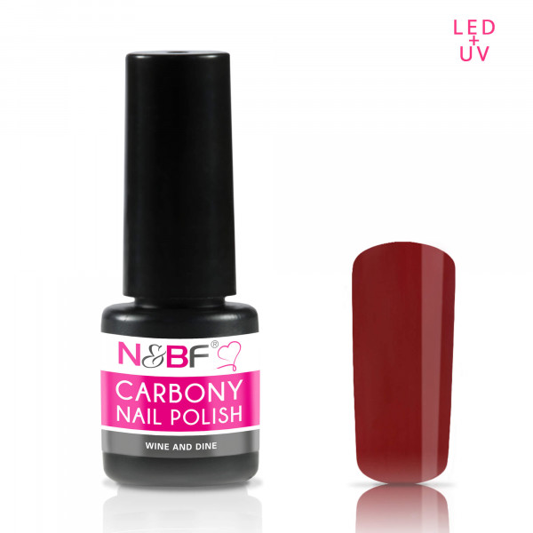 Nails & Beauty Factory Carbony Nail Polish Wine and Dine