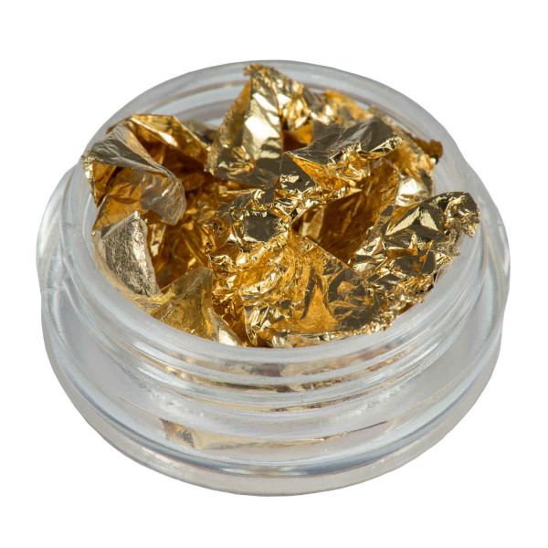 Nails Factory Nailart Folie Gold Dose hauchdünn side