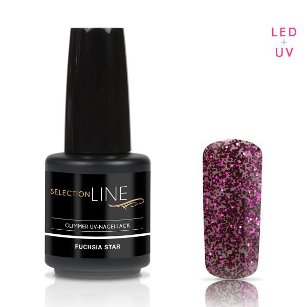 Nails-Beauty-Factory-Selection-Line-Glimmer-UV-Nailpolish-Fuchsia-Star-15-ml-125000374