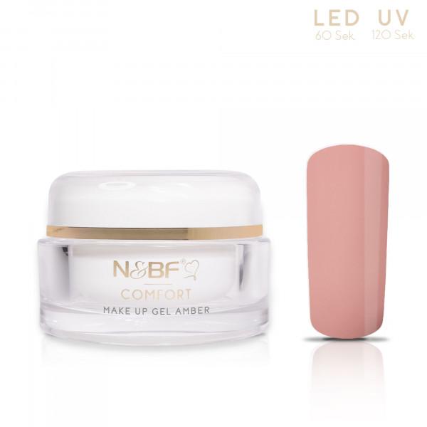 Nails & Beauty Factory Comfort Line Make Up Gel Amber 15ml