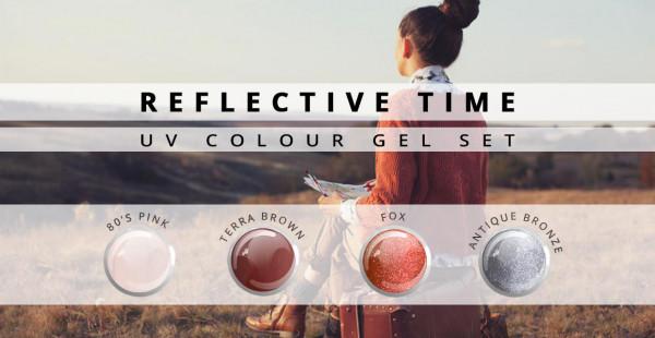 Nails & Beauty Factory Farbgel 4er Set Reflective Time Big