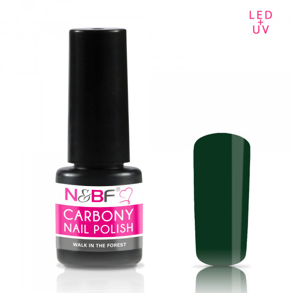 Nails & Beauty Factory Carbony Nail Polish Walk in the forest
