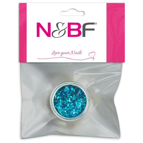 Nails Factory Nailart Pailletten Light Blue Blister