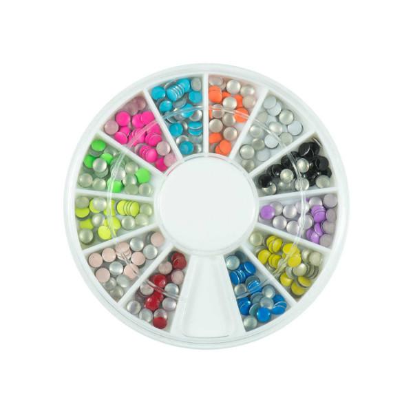 Nails Factory Neon Nailart Stones Mittel 500 Stück