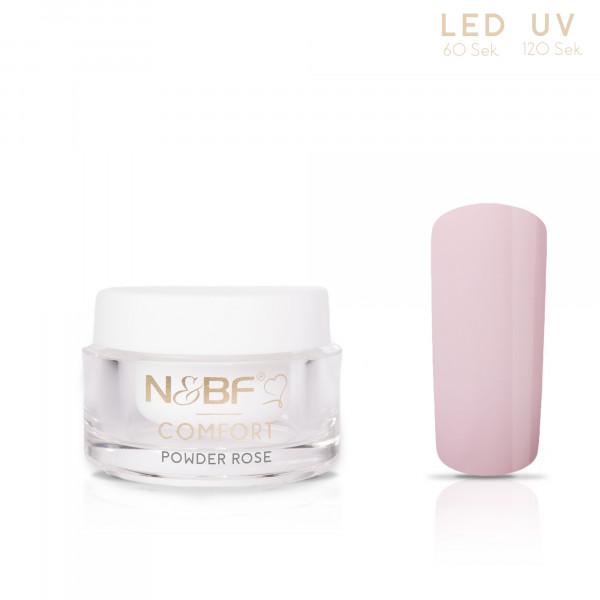 Nails & Beauty Factory Comfort Farbgel Powder Rosé 5ml