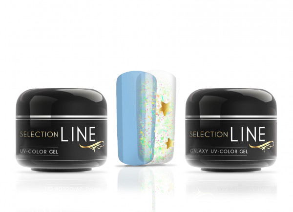Selection Line Galaxy Color Gel Pegasus meets Galactic Blue 2x5ml