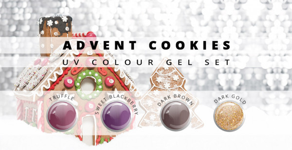 Nails & Beauty Factory Advent Cookies Farbgel Set
