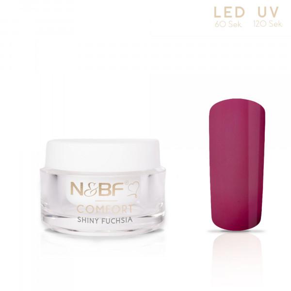 Nails & Beauty Factory Comfort Farbgel Shiny Fuchsia 5ml
