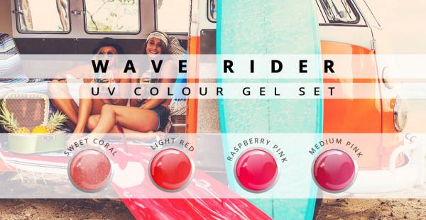 Nails & Beauty Factory Wave Rider Color Gel 4er Set