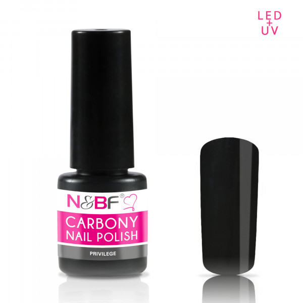 Nails & Beauty Factory Carbony Nail Polish Privilege