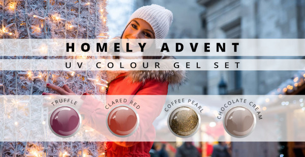 Nails and Beauty Factory Color Gel Set Homely Advent