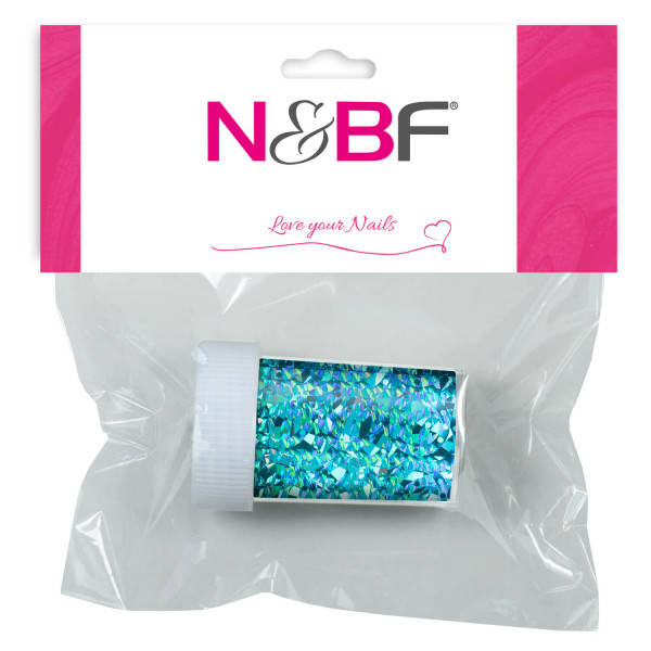Nails-and-Beauty-Factory-Nailart-Transfer-Nagelfolie-Nailfoil-Glimmer-Caribic-Blue