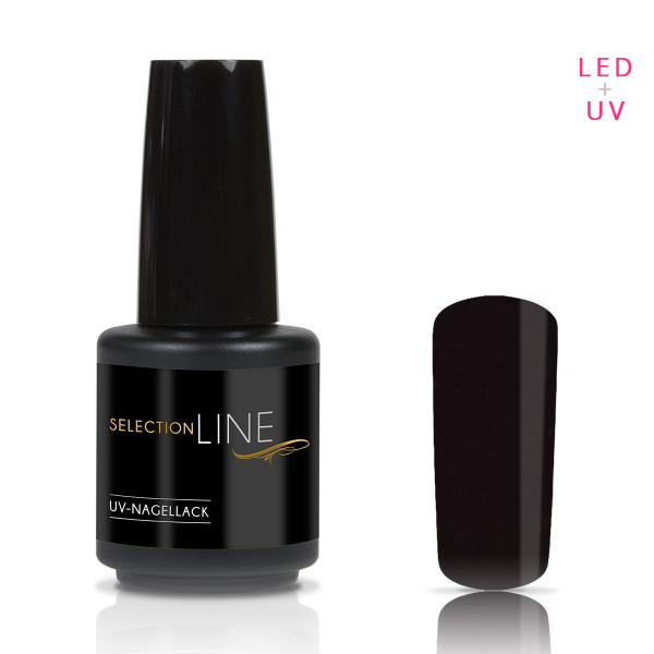 Nails & Beauty Factory Selection Line UV Nagellack Darkside Violet 15ml