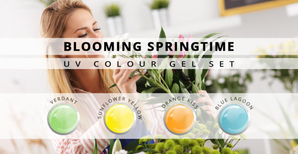 Nails & Beauty Factory Blooming Springtime Color Gel 4er Set