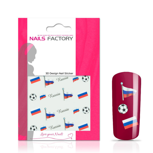 Nails Factory Nail Tattoos Fussball Russia