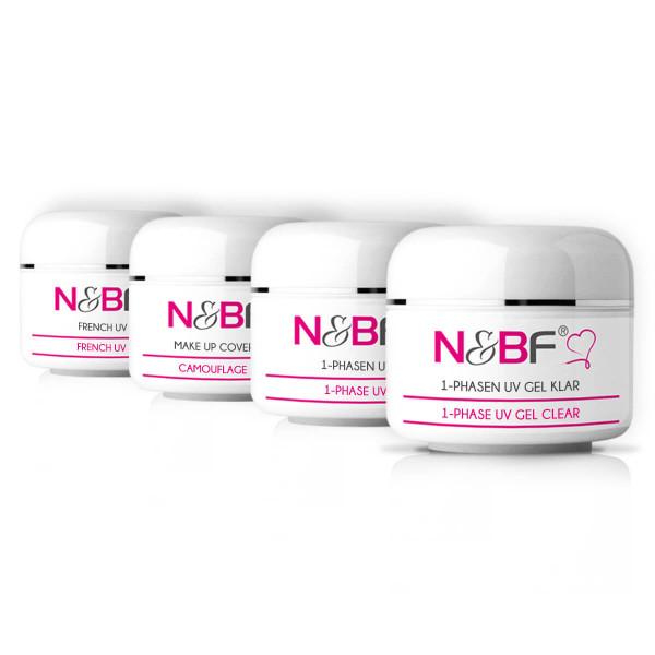 Nails & Beauty Factory UV Gel Probe Set Nr. 3 4x5ml