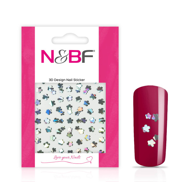 Nails-and-Beauty-Factory-Nagelsticker-Silver-Clover-124133739