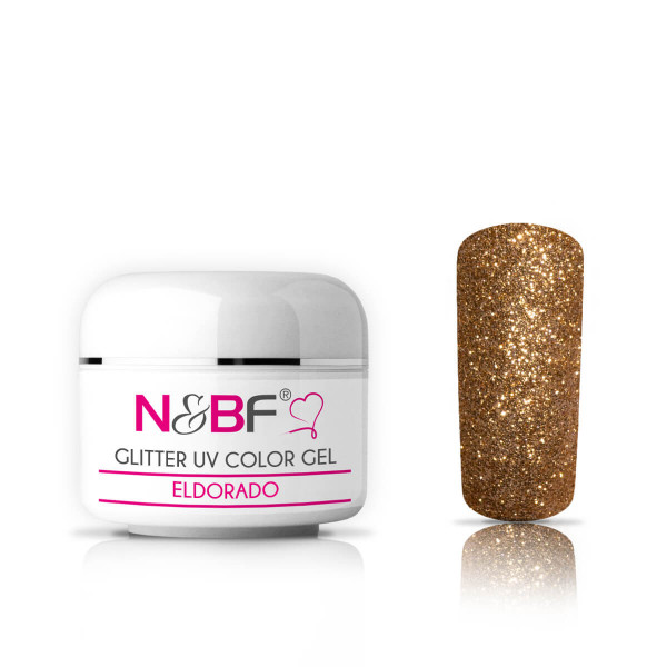 Nails-and-Beauty-Factory-Glitter-UV-Color-Gel-Farbgel-Eldorado