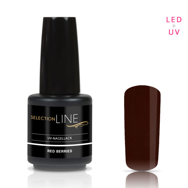 Nails & Beauty Factory Selection Line UV Nagellack Red Berries 15ml