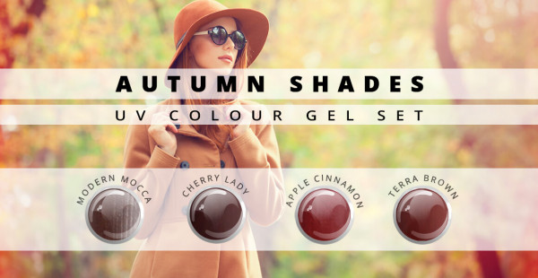 Autumn Shades Farbgel 4er Set