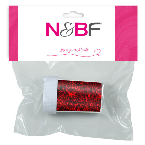 Nails-and-Beauty-Factory-Nailart-Transfer-Nagelfolie-Nailfoil-Glimmer-Red