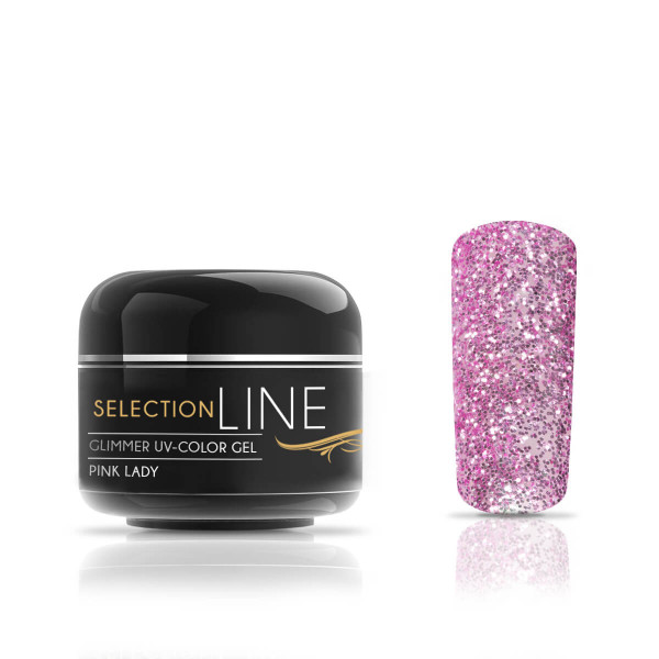 Nails & Beauty Factory Selection Line Glimmer Farbgel Pink Lady