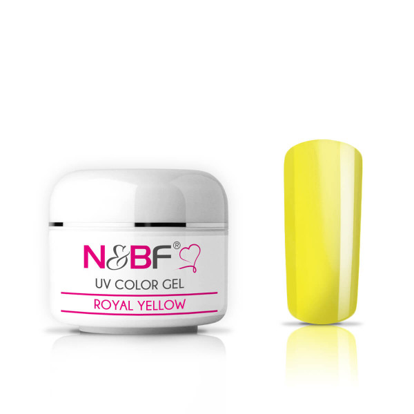 Nails-and-Beauty-Factory-UV-Color-Gel-Farbgel-Royal-Yellow