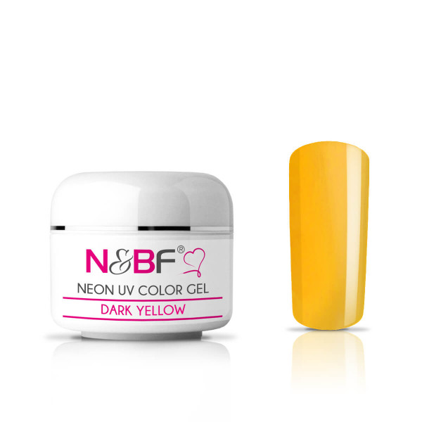 Nails-and-Beauty-Factory-Neon-UV-Color-Gel-Farbgel-Dark-Yellow