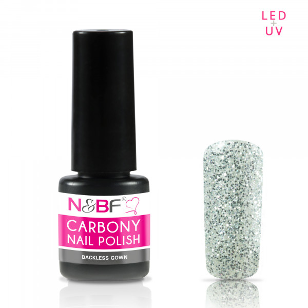 Nails & Beauty Factory Carbony Nail Polish Bachless Gown 5ml