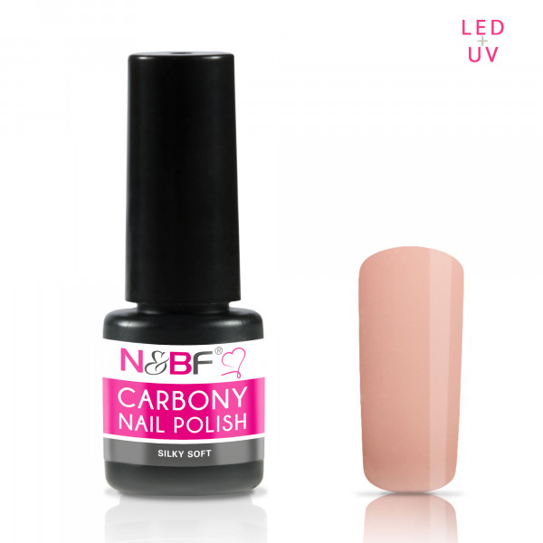 Nails & Beauty Factory Carbony Nail Polish Silky Soft 5ml