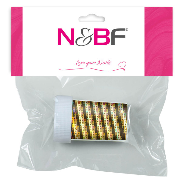 Nails-and-Beauty-Factory-Nailart-Transfer-Nagelfolie-Nailfoil-Glitter-Gold