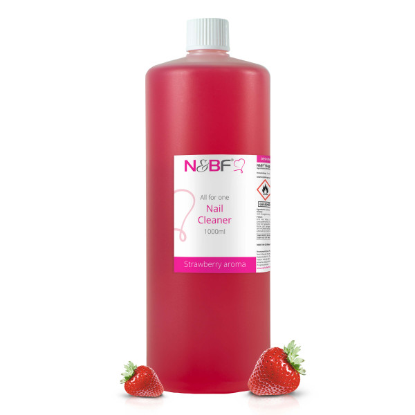 Nails & Beauty Factory Nagel Cleaner all for one - Erdbeer Aroma 1000ml