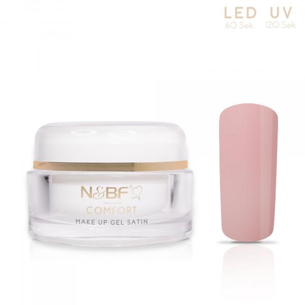 Nails & Beauty Factory Comfort Line Make Up Gel Satin 15ml