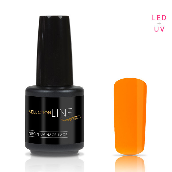 Nails & Beauty Factory Selection Line Neon UV Nagellack Orange 15ml