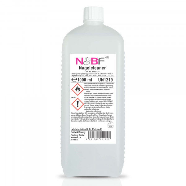 Nails & Beauty Factory Nagelcleaner 1000ml / 1 Liter