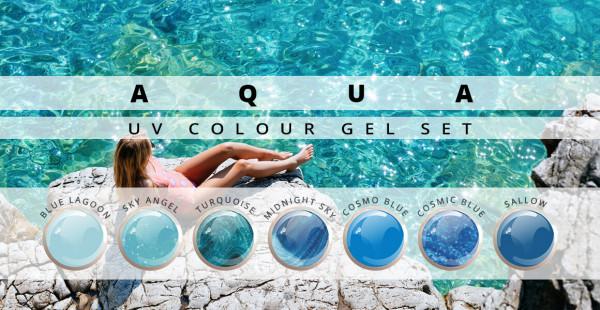 Nails & Beauty Factory Aqua Farbgel Set
