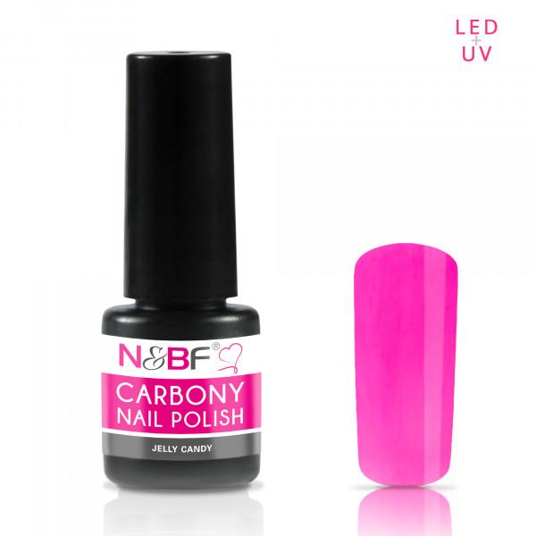 Nails & Beauty Factory Carbony Nail Polish Jelly Candy 5ml
