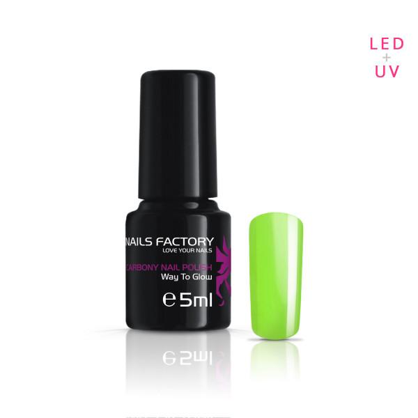 Nails & Beauty Factory Carbony Nail Polish Way To Glow