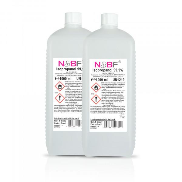Nails & Beauty Factory Nagelcleaner 99,9% 2L Isopropanol Alkoholanteil kosmetisch rein