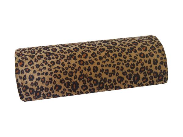 Handauflage aus Velour Design Leopard