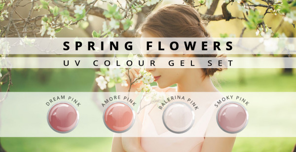 Nails & Beauty Factory Farbgel Set Spring Flowers