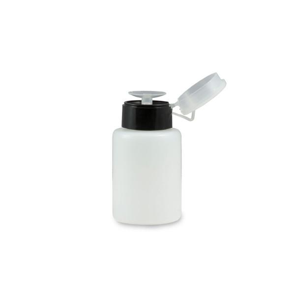 Nails Factory Dispenser Pumpflasche Schwarz 150ml offen