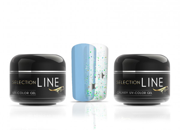 Selection Line Galaxy Color Gel Lynx meets Galactic Blue 2x5ml